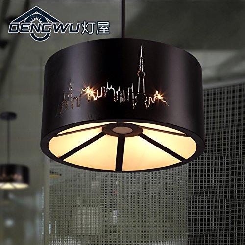 BLYC- Retro Deckenlampe E27 kreative Industrie Eisen loft Restaurant Flur Decke Lampen personalisierte Balkon 400 * 200mm