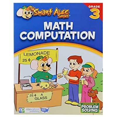 The Smart Alec Series Math Computaion Grade: 3 - one color, one size: Toys & Games