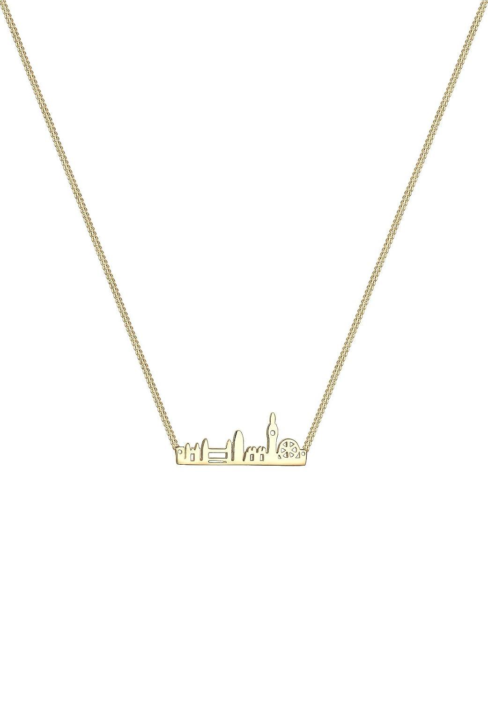 Halskette silbern mit Anhänger Skyline London England Stadt