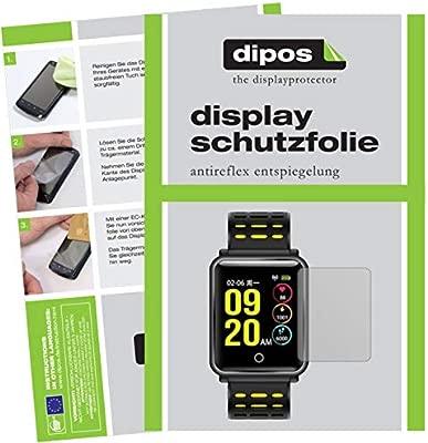 dipos I 6X Protector de Pantalla Mate Compatible con TagoBee TB06 Smartwatch pelicula Protectora