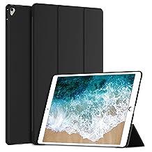 "iPad Pro 12.9 2017 Case, JETech Smart Case Cover for Apple iPad Pro 12.9"" 2017 All New Model Auto Sleep/Wake (Black) - 3054"