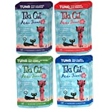 Tiki Cat Aloha Friends Grain Free Wet Cat Food Variety Pack - 4 Flavors - 12 Total Pouches (3 Ounces Each)