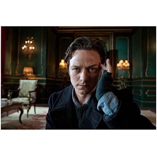 X-Men James McAvoy as Professor X with hand on temple 8 x 10 Inch - Anatomy Temples