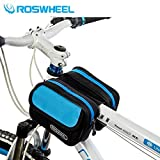 GigaMax(TM?Cycling Bag Mountain Road MTB Bike Bicycle Front Top Tube Frame Pannier Double Bag Pouch 1.5L