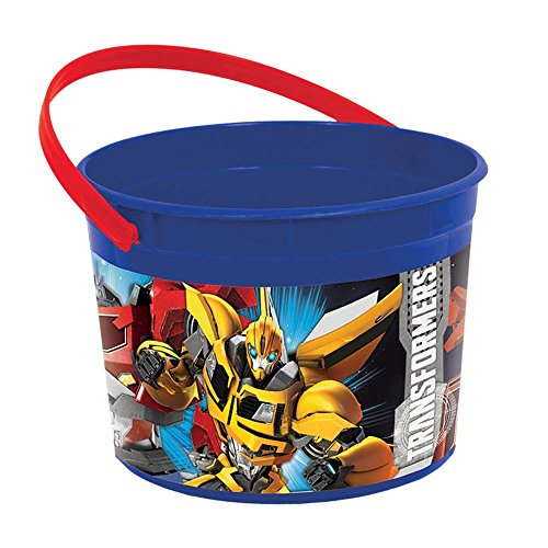 Amscan Transformers Party Supplies Favor Bucket (1)