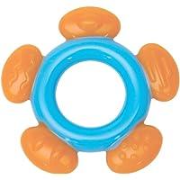 Mee Mee Multi-Textured Silicone Teether (Single Pack, Blue Orange)