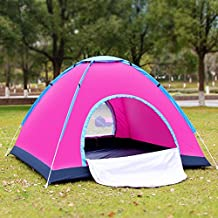 Outdoor Automatic Pop up Portable family Beach Tent 1 - 2 Person Camping Fishing Hiking Picnicing Protective Anti UV Sun Shelter Canopy Quick Set Up