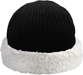 Pudus Corduroy Adult one Size Cozy Winter hat with Sherpa Lining 0333f5f8511d