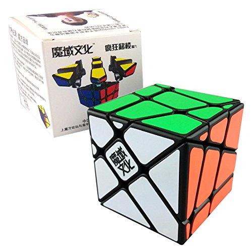 Yongjun Yj Moyu Crazy Fisher Speed Cube Puzzle Black
