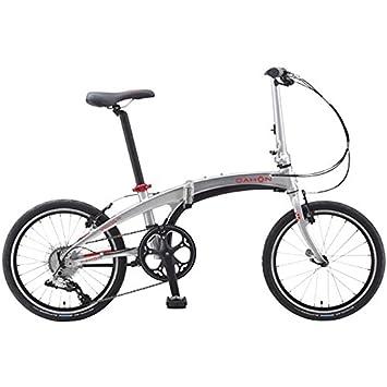 "Dahon vigor D9 plateado Obsidian 20 ""Bicicleta Plegable bicicleta"