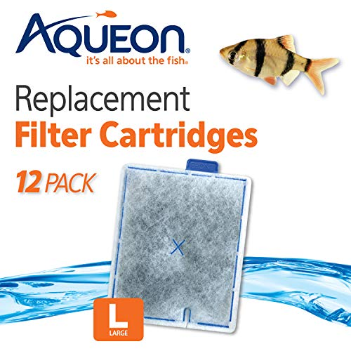 - Aqueon QuietFlow Filter Cartridge, Large, 12-Pack