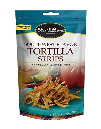 Mrs. Cubbison's Tortilla Strips, Southwest Flavor, 4 Ounce (Pack of 9) (Tortilla Strips)