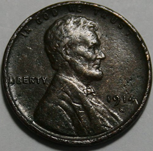 1914 S Lincoln Cent xf40