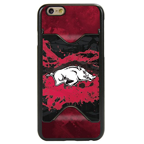 Razorbacks Credit Card Arkansas - Guard Dog Arkansas Razorbacks Credit Card Case for iPhone 6 / 6s