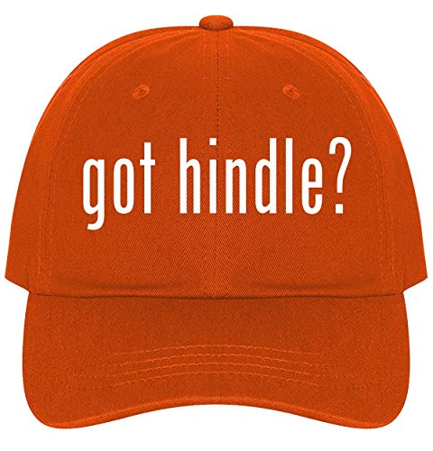 The Town Butler got Hindle? - A Nice Comfortable Adjustable Dad Hat Cap, Orange