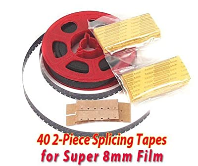 Splicing Tape Splice Tape for Super 8mm Film / Home Movies -sealed! by CameraWorksNW