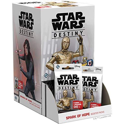 Fantasy Flight Games Star Wars Destiny: Spark of Hope Booster Pack Display (36) ()