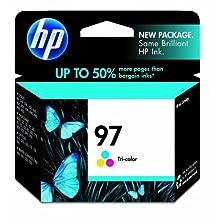HP 97 Tri-Color Original Ink Cartridge For HP Deskjet 460, 5740, 5940, 6520, 6540, 6620, 6840, 6940, 6980, 6988, 9800, HP Officejet 100, 150, 6200, 6210, 150, 6200, 6210, 7210, 7310, 7410, H470, HP Photosmart 2610, 2710, 325, 335, 375, 385, 422…