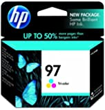 HP 97 (C9363WN) Ink Cartridge (Multicolor) In Retail Packaging