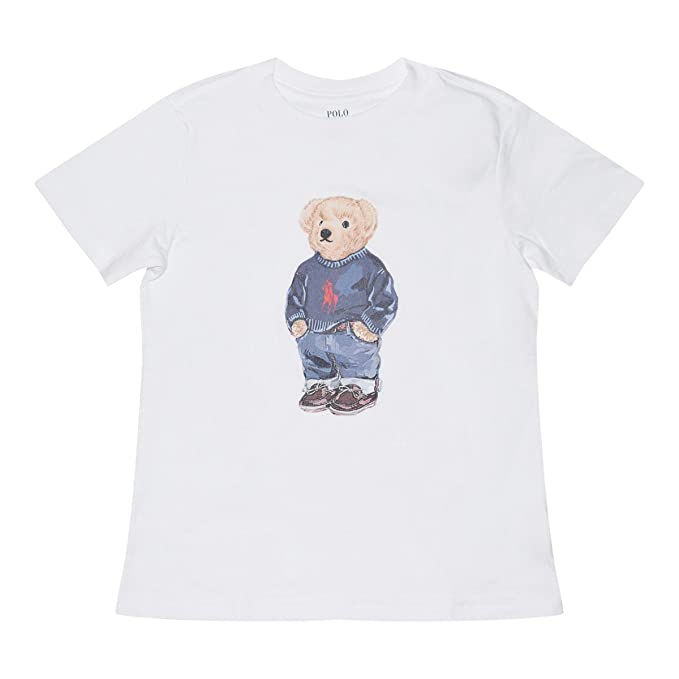 1a6bad0ce Polo Ralph Lauren Boys Limited Polo Bear T-Shirt (White / Pony Sweater,