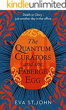 The Quantum Curators and the Fabergé Egg: A fast paced portal adventure