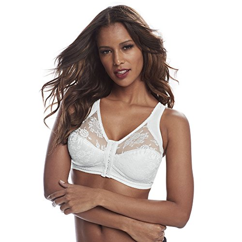 Cortland Intimates Full Figure Wire-Free Minimizer Bra, 42B, White