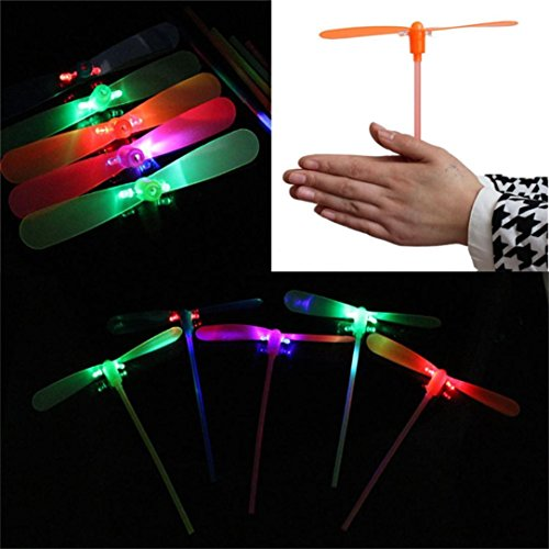 New Toy LED Braided Toy,SUPPION Educational LED Light Up Flashing Dragonfly Glow For Party Toys(Random Color)