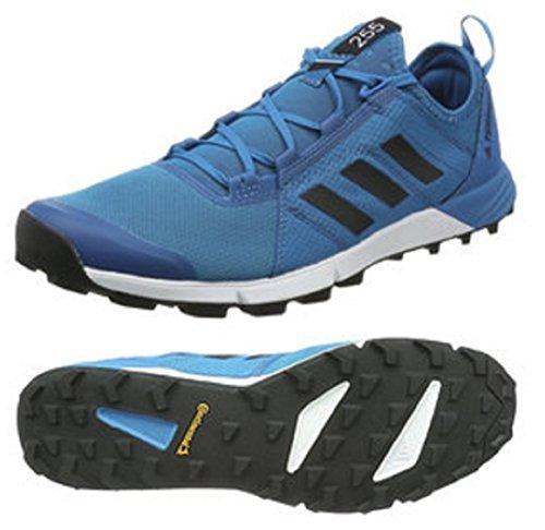 賛辞合併家事をするアディダス (adidas) 軽量トレイルランニングシューズ 28.5cm テレックス TERREX AGRAVIC SPEED 国内正規品 S80864 ミステリーペトロール