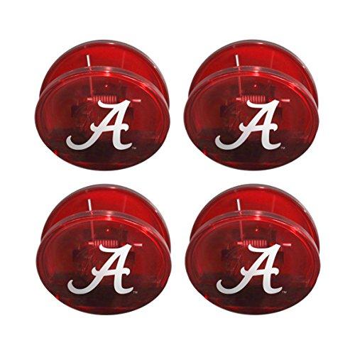Boelter Brands NCAA Alabama Crimson Tide Magnetic Chip Clip, 4-Pack (Clip Crimson Tide Alabama Paper)