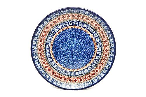 Polish Pottery Plate - Dinner (10 1/2