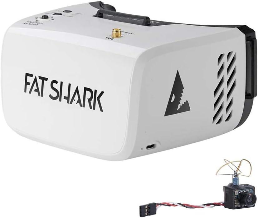 Fat Shark Recon V3 DVR Goggles and Ultra Micro Camera(Builtin 5G8 25mW Video Transmitter) RTF Combo