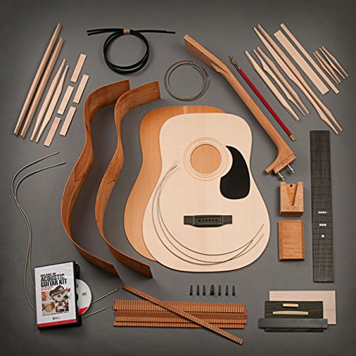 StewMac Build Your Own Dreadnought Acoustic Guitar Kit with