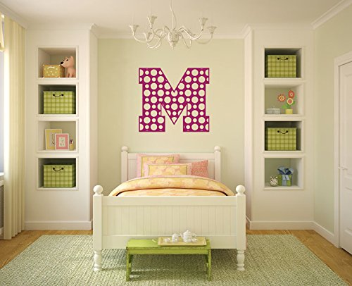 nitial Letter Vinyl Wall Decal Sticker Graphic ()