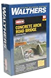 #9: Walthers Cornerstone Series Kit HO Scale Street System- Arched Road Bridge