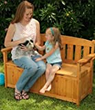 Kidkraft Wooden Garden Storage Bench