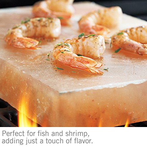 Himalayan Natural Crystal Salt Cooking Tile 10'' X 6'' X 2'' With Free Recipe Guide Included by Rocking Salt (Image #6)
