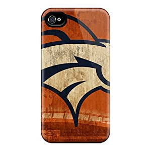 Excellent Cell-phone Hard Covers For Iphone 4/4s With Provide Private Custom High Resolution Denver Broncos Skin SherriFakhry