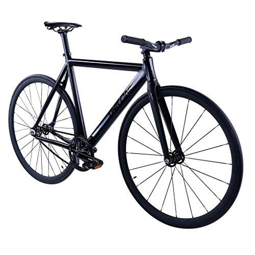 Throne Phantom (Limited) Series Complete Track Bike (Matte Black, 53)