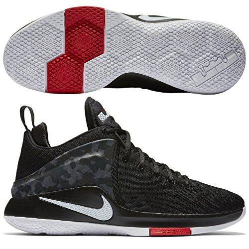 Nike 852439-002, Zapatillas de Baloncesto para Hombre, Negro (Black / White-Anthracite-Cool Grey), 48.5 EU