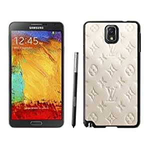 Beautiful Custom Designed Cover Case For Samsung Galaxy Note 3 N900A N900V N900P N900T With Milky Leather Louis Vuitton Patterns Phone Case