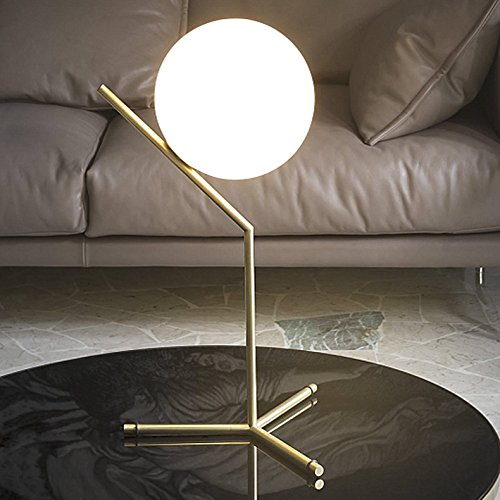 FWEF Kreative Glas Tischleuchte Lampe Lampe Büro Bett Schlafzimmer-Dekoration Neuheit Nachtlicht