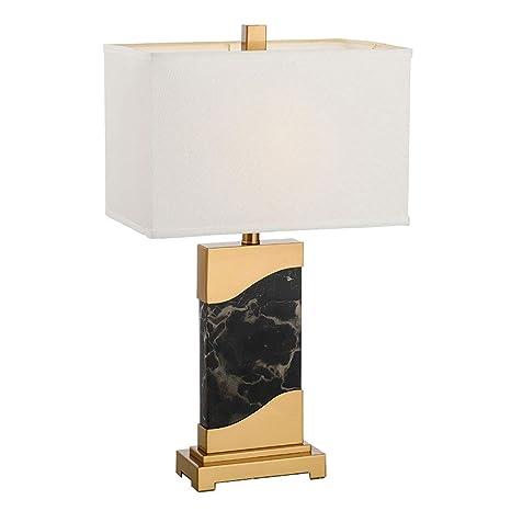 Lámpara de Mesa Blanca de Jazz Minimalista Europeo, Lámpara ...