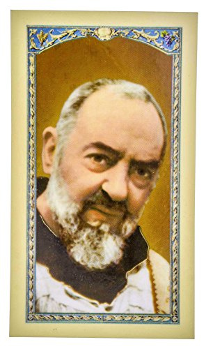 - Traditional Holy Cards with Catholic Art and Prayers (Padre Pio)