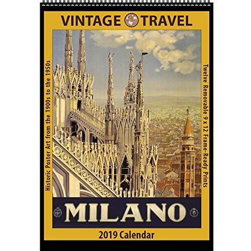 Vintage Travel 2019 Calendar: Historic Poster Art