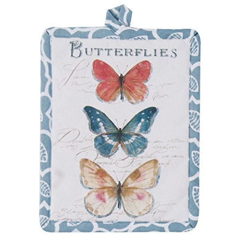 Kay Dee Designs R3502 My Garden Journal Butterfly Garden Potholder