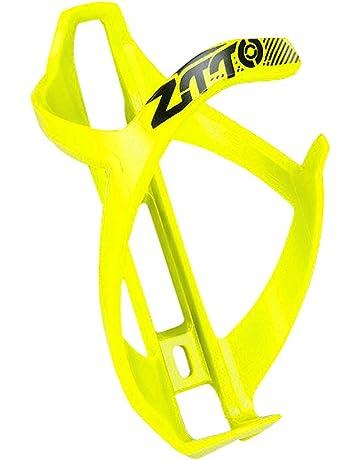 Elite bicicleta portabidones con portavasos Cannibal XC amarillo fluo negro
