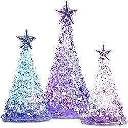 Color Changing LED Acrylic Christmas Tree