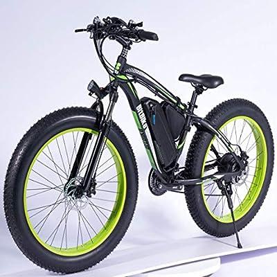 Jun Batería de Litio de Bicicleta eléctrica, 26 Pulgadas Shift Fat ...