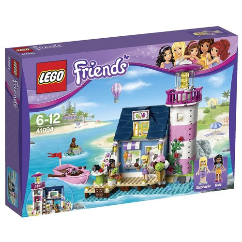 Lego Friends Heart Lake Harbor House 41 094
