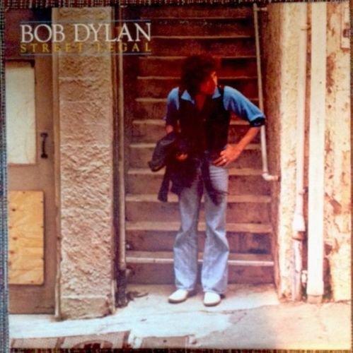 BOB DYLAN Street Legal LP Vinyl, Cover VG++ Pic Sleeve
